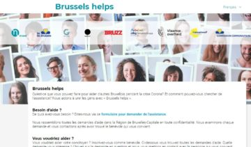 Covid-19: Plateforme solidaire Brussels Helps